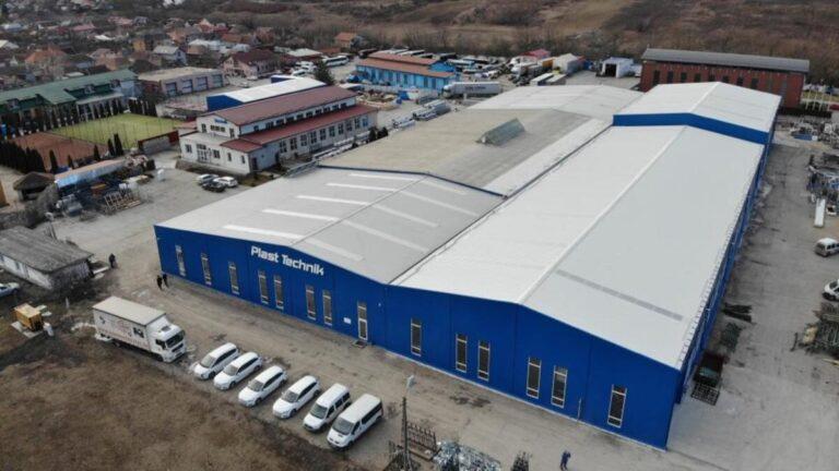Construire Hala – PLAST TECHNIK SRL – Turda