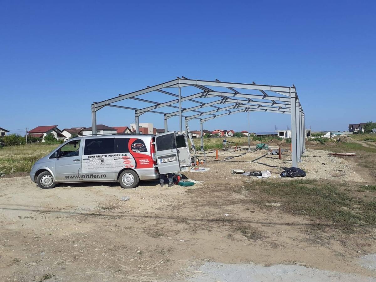 Structura Metalica – Vidra