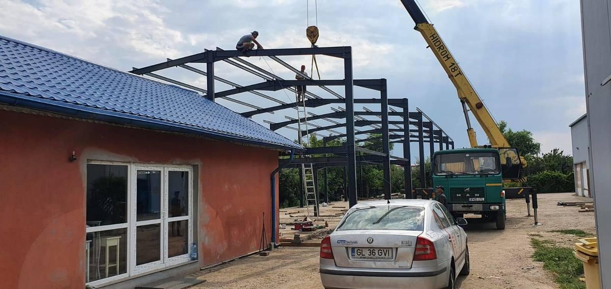 Uzinare si montaj structura metalica – Domnesti
